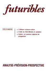 Futuribles N.138 Decembre 1989 - Couverture - Format classique