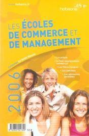 Les écoles de commerce et de management. les prépas, le haut enseignement commercial... - Intérieur - Format classique