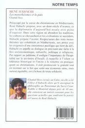 Rene Habachi - 4ème de couverture - Format classique