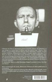 Chaval A Deux Voix - 4ème de couverture - Format classique