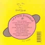 Glou-glou l'âne - 4ème de couverture - Format classique