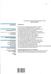 Projetables histoire du judaisme n 8065 septembre-octobre 2008 - 4ème de couverture - Format classique
