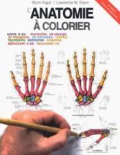 Anatomie a colorier 2eme - Couverture - Format classique