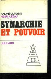 Synarchie Et Pouvoir. - Couverture - Format classique