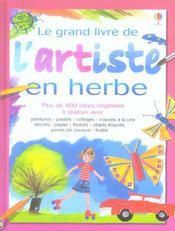 Le grand livre de l'artiste en herbe - Intérieur - Format classique