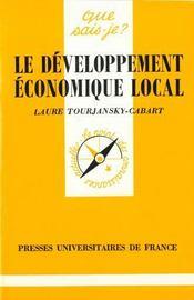 Le developpement economique local qsj 3150 - Intérieur - Format classique