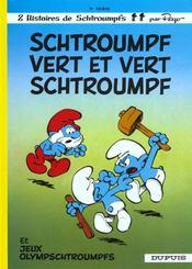 Les Schtroumpfs T.9 ; Schtroumpf vert et vert Schtroumpf - Intérieur - Format classique