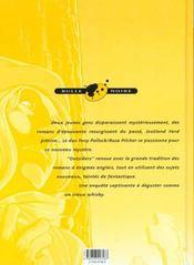 Outsiders T.2; Creature De Cauchemar - 4ème de couverture - Format classique