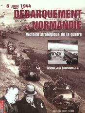 6 juin 1944 : debarquement en normandie - Intérieur - Format classique