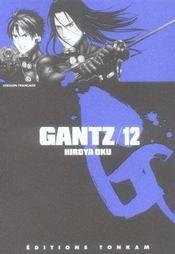 Gantz T.12 - Intérieur - Format classique