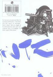 Gantz T.12 - 4ème de couverture - Format classique