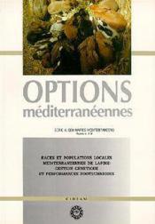 Races et populations locales mediterraneennes de lapins ; gestion genetique et performances zootechniques - Couverture - Format classique