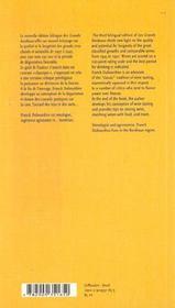 Grands Bordeaux De 1945 A Nos Jours (3eme Ed.) : Notations, Longevite (Les) - 4ème de couverture - Format classique