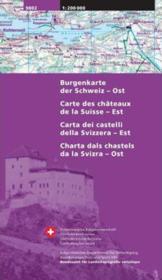 Carte Des Chateaux Est - Couverture - Format classique