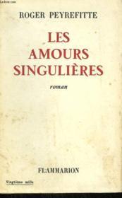 Les Amours Singulieres. - Couverture - Format classique