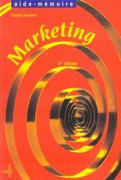 Marketing ; 3e Edition - Intérieur - Format classique