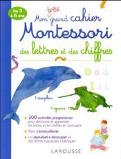 Mon grand cahier Montessori - Couverture - Format classique