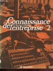 Connaissance De L'Entreprise 2 - Couverture - Format classique