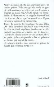 Petite Brocante Intime - 4ème de couverture - Format classique