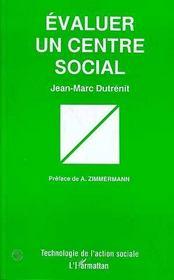 Évaluer un centre social - Intérieur - Format classique
