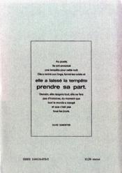 Une femme de ferme ; le livre des poule - 4ème de couverture - Format classique