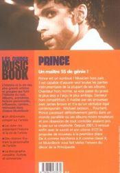 Prince de a a z - 4ème de couverture - Format classique