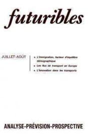 Futuribles N.145 Juillet Aout 1990 - Couverture - Format classique