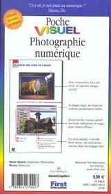 Photo Numerique - 4ème de couverture - Format classique