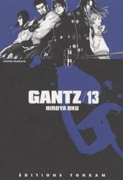 Gantz T.13 - Couverture - Format classique