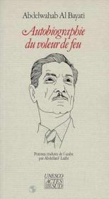 Autobiographie du voleur de feu - Couverture - Format classique