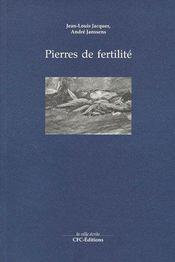 Pierres de fertilité - Couverture - Format classique