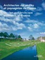Architectes de jardins et paysagistes de france - Couverture - Format classique