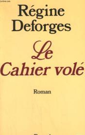 Le Cahier Vole. - Couverture - Format classique