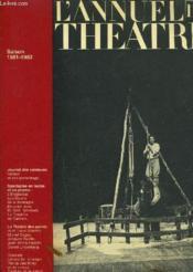 L'Annuel Du Theatre Saison 1981 - 1982. - Couverture - Format classique