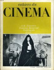 Cahiers Du Cinema N° 209 - S. M. Eisenstein - Walerian Borowczyk - Probleme Du Direct - Couverture - Format classique