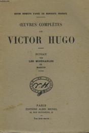 Oeuvres Completes De Victor Hugo - Roman Vii - Les Miserables Iii - Marius - Couverture - Format classique