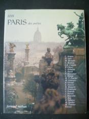 Paris des poètes - Couverture - Format classique
