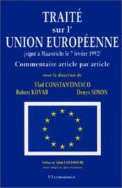 Traite sur l'union europeenne - Couverture - Format classique