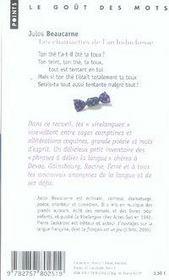 Les chaussettes de l'archi-duchesse et autres défis de la prononciation - 4ème de couverture - Format classique