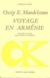 Voyage En Armenie - Couverture - Format classique