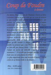 Coup de foudre à denver - 4ème de couverture - Format classique