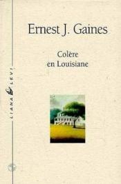 Colere En Louisiane - Couverture - Format classique