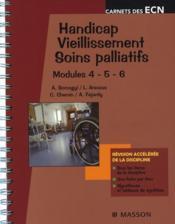 telecharger Handicap, vieillissement, soins palliatifs livre PDF en ligne gratuit