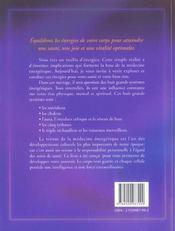 Medecine energetique (édition 2005) - 4ème de couverture - Format classique