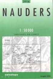 Nauders - Couverture - Format classique