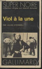 Collection Super Noire N° 29. Viol A La Lune. - Couverture - Format classique