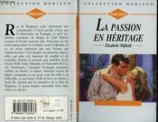 La Passion En Heritage - The Final Surrender - Couverture - Format classique