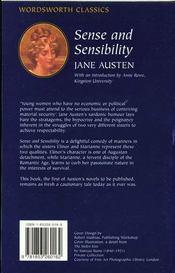 Sense and Sensibility - 4ème de couverture - Format classique
