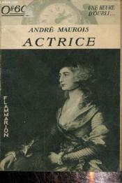 Actrice - Couverture - Format classique