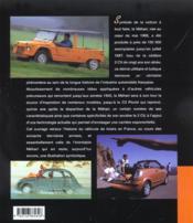 Citroen Mehari - 4ème de couverture - Format classique